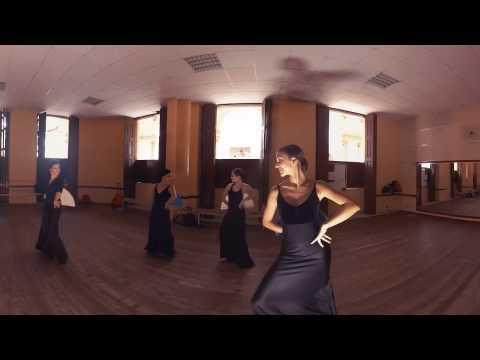 Peek Inside a Flamenco Dance Class
