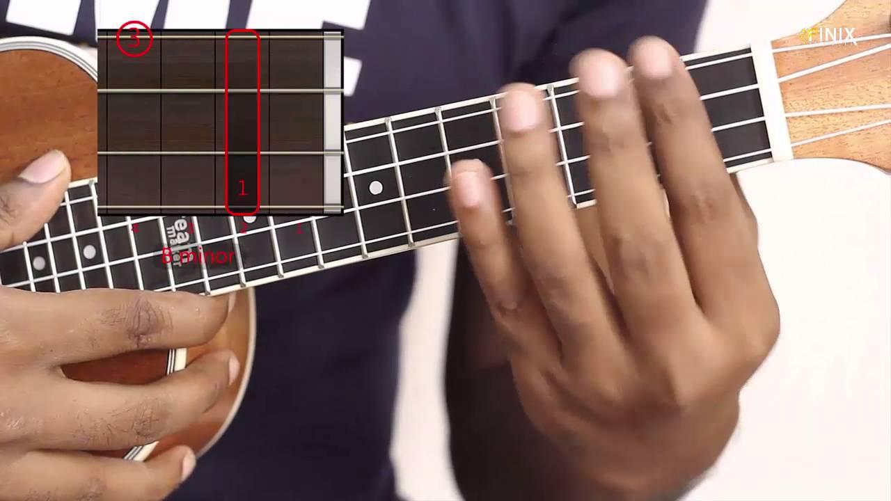 How to play b minor ukulele easy chord ukulele lessons youtube how to play b minor ukulele easy chord ukulele lessons hexwebz Gallery