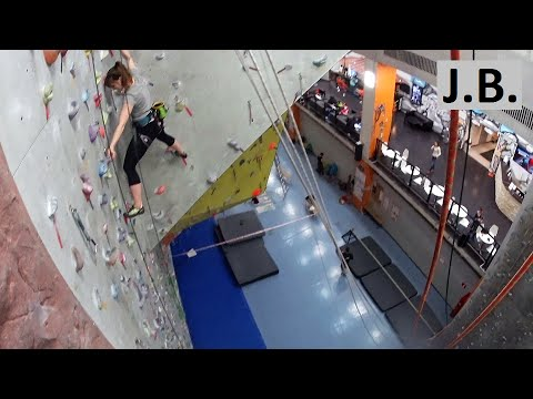 Overview Big Wall climbing gym Moscow mar.2016