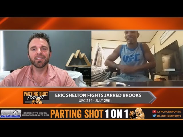 "UFC 214's Eric Shelton ""My hands are going to be too much for Jarred Brooks"""