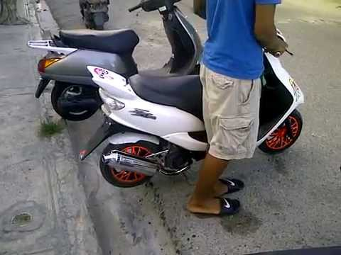 moto scooter zr evolution