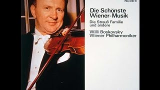 **♪ヨーゼフ・シュトラウス:ポルカ・フランセーズ「小さな風車」 Op. 57  / ウィリー・ボスコフスキー指揮ウィーン・フィルハーモニー管弦楽団