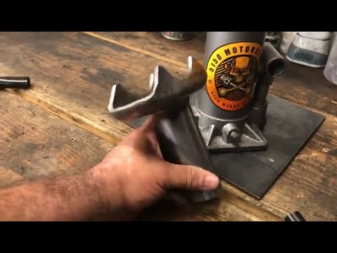 How To Build A Axle Saddle Jack For A Harbor Fright 8 Ton Bottle Jack