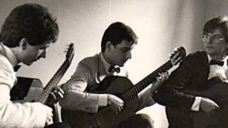 Premier mouvement, Allegro, du Trio pour Guitare opus 12 de Filippo Gragnani