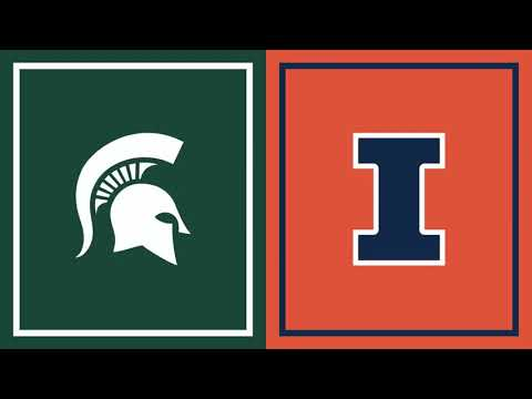 Illinois at Michigan State | First Half Highlights | Feb. 23, 2021 | Big Ten Basketball