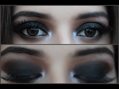 Classic Black Smokey Eye Tutorial || Aeman Shahzad || thumbnail