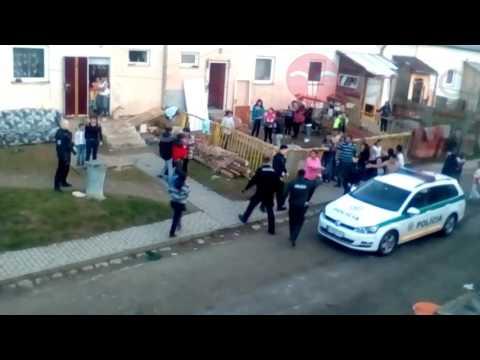 Police Attack Roma Community in Slovakia