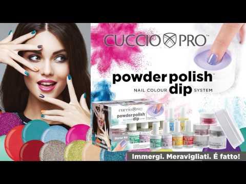 Cuccio Pro Dipping Powder Application Natural Nail - Italian