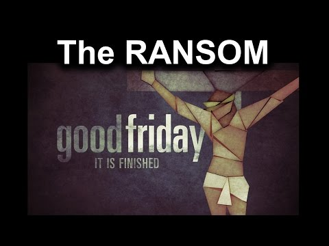The Ransom Good Friday 2017 message Jude Antoine