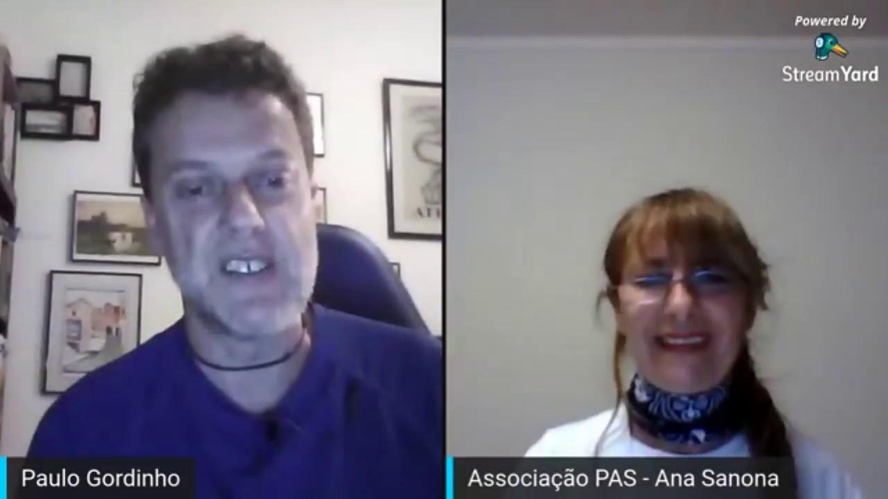 Entrevista à Ana Sanona, coordenadora da Atividade de Respiração em Movimento - Desporto