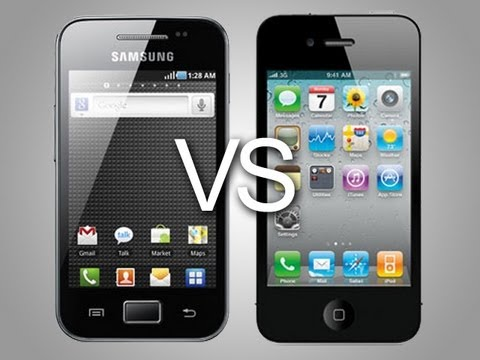 galaxy vs iphone samsung galaxy ace vs iphone 4 speed 2208