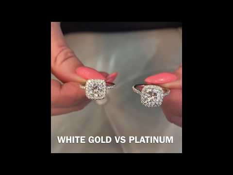 Metal Color For Engagement Ring: White Gold VS Platinum & Rose Gold VS Yellow Gold