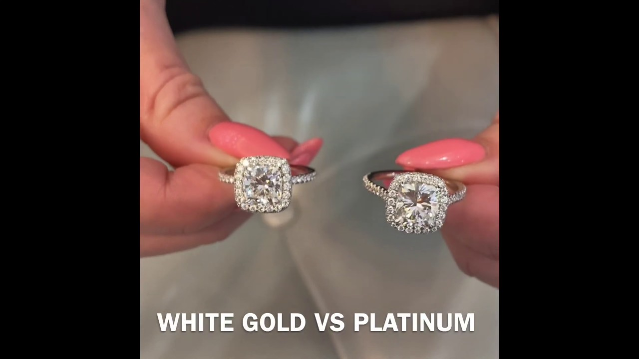 Metal Color For Engagement Ring White Gold Vs Platinum Rose Gold Vs Yellow Gold Youtube