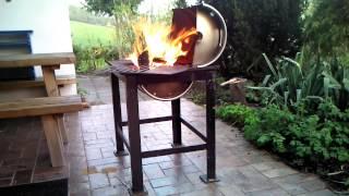 play champ grill von httpwwwedelstahlgrillde. Black Bedroom Furniture Sets. Home Design Ideas
