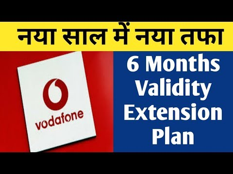 Latest Telecom News - Vodafone New 6 Months Validity Extension Plan