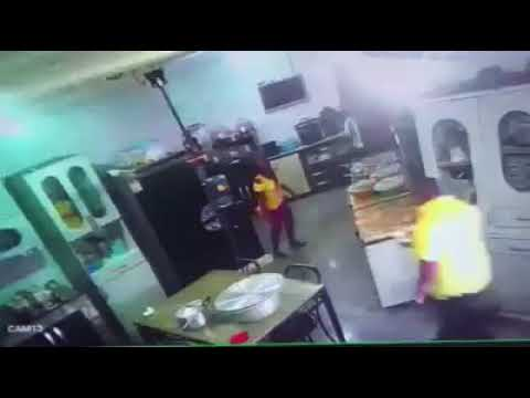 Invasion of the Kitchen of Rivers State Commissioner For Education By Solders.