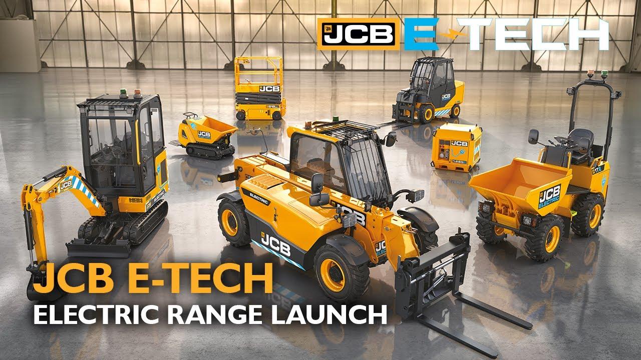 JCB E-TECH Electric Range Livestream Launch