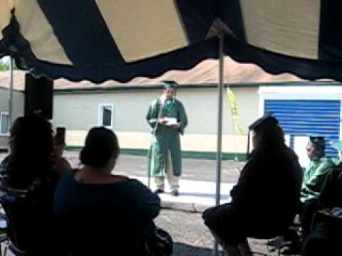samson demand delivers his graduation speech at summit academy akron middle school part 3