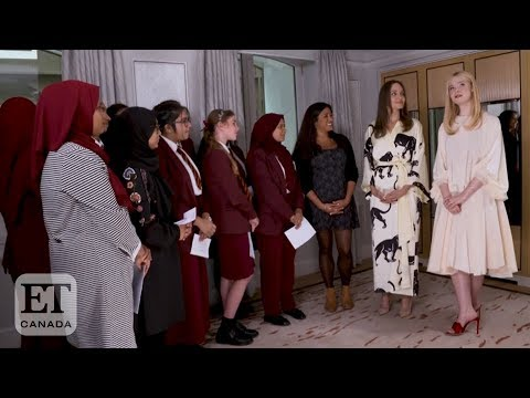 Angelina Jolie, Elle Fanning Celebrate International Day Of The Girl