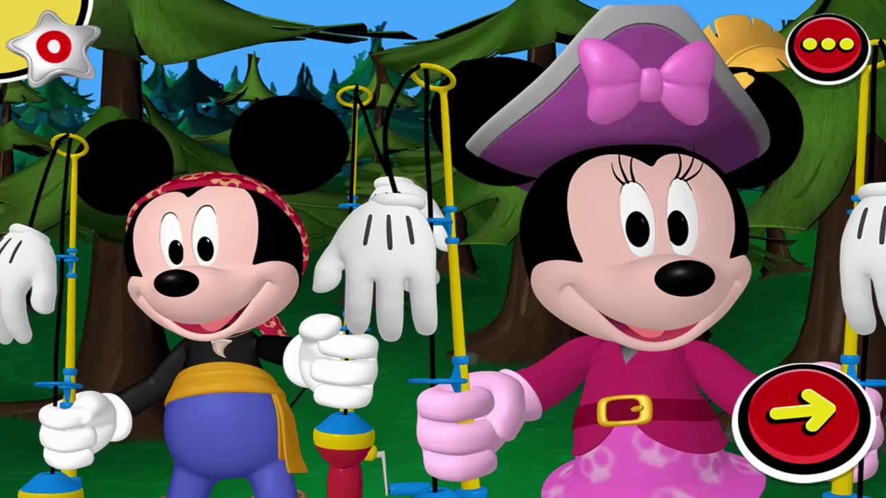Chuột Mickey Và Các Bạn – Mickey Đi Câu Cá