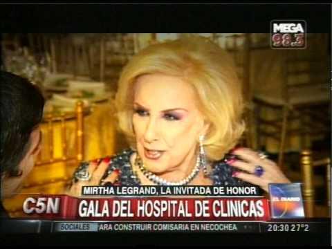 C5N - SOCIEDAD: GALA DEL HOSPITAL DE CLINICAS