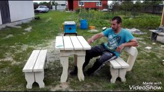 видео Мебель для бани и сауны своими руками