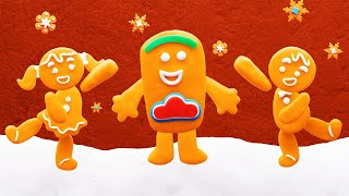 Play Doh Videos | Gingerbread Christmas | Stop Motion | The Play-Doh Show