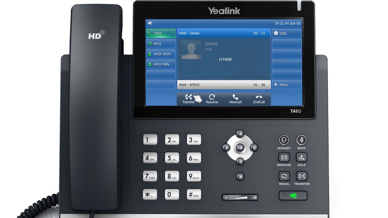 Yealink SIP VP-T48S | Hospital VoIP Phone| Office Phone