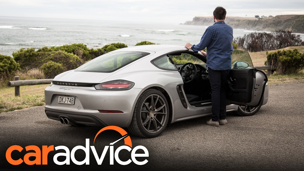 2017 porsche 718 cayman s review | caradvice - youtube