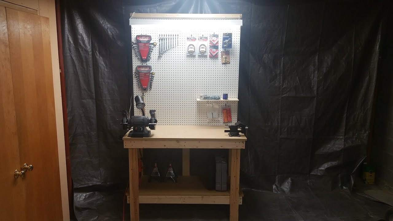 youtube how to build a workbench