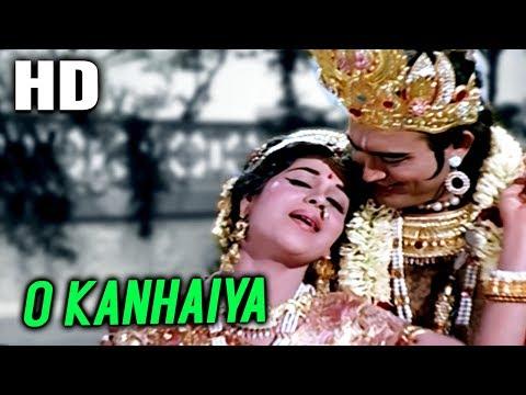 O Kanhaiya   Lata Mangeshkar, Manna Dey   Raja Aur Runk 1969 Songs   Sanjeev Kumar, Kumkum thumbnail