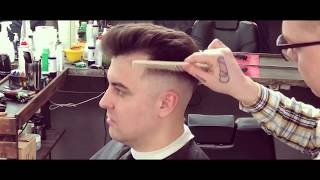 Man's haircut / мужская стрижка / Fade / фэйд