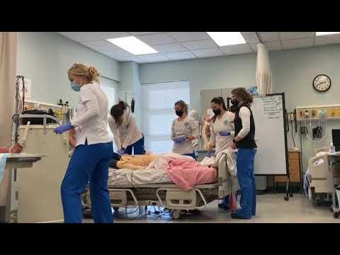 Nursing School CPR SIM lab - Western Nevada College