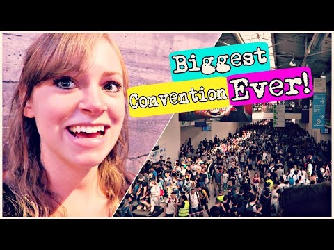 😲 MASSIVE CONVENTION! Gamescom 2017 🎮 | Cologne, Germany Travel Vlog