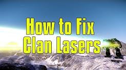 Balancing Clan Laser Alphas - MechWarrior Online