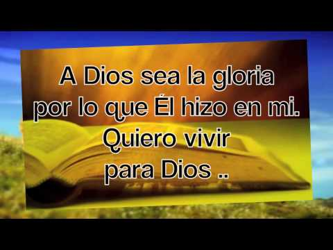 A Dios sea la Gloria-Julissa-cantada