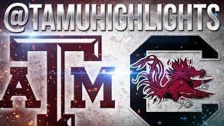 Texas A&M Highlights vs South Carolina 10-01-2016 ᴴᴰ