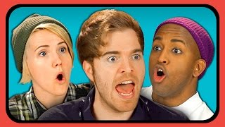 youtubers react to damn daniel compilation