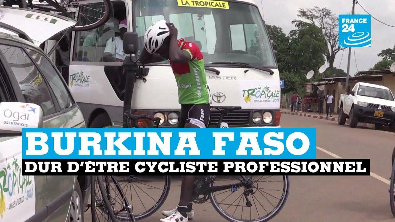 Dur d'être cycliste professionnel au Burkina Faso