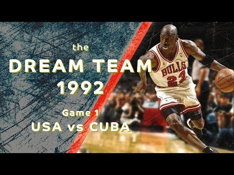 "Dream Team 1992: ""Return to Olympus""/ Game 1/ USA vs CUBA/ FULL GAME HIGHLIGHTS"