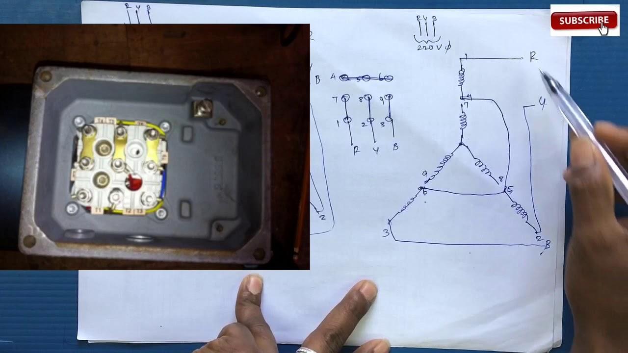 Phase Motor Wiring Diagrams 3 Phase 6 Lead Motor Wiring Diagram 12