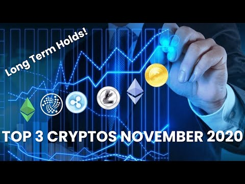 Top 3 Cryptocurrencies to Invest in November 2020 – LONG TERM HOLDS