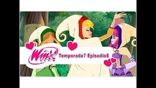 """Winx Club 7x08 Temporada 7 Episodio 08 """"En la Edad Media"""" Episodio Completo"""