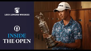 Behind the scenes with Champion Golfer Collin Morikawa