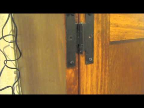 Handy Hazzan Shows How To Install Cabinet Door Hinges