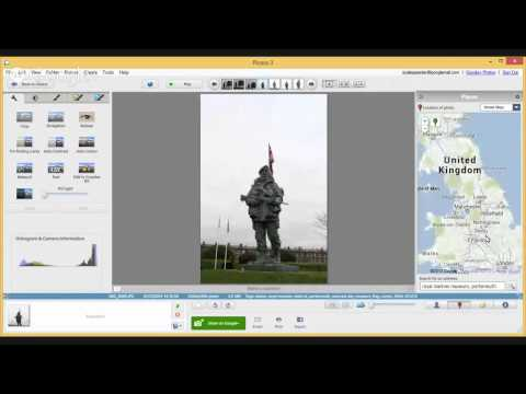 Tags, Geotagging & Exif Data In Picasa 3.9 - It