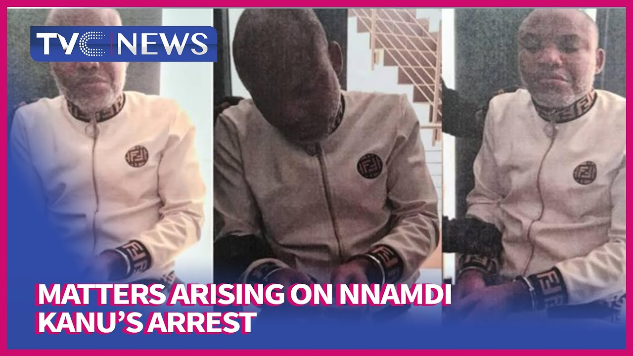 Download [TVC Breakfast] Matters Arising On IPOB Leader, Nnamdi Kanu's Arrest