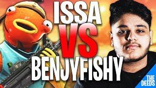 NRG Benjyfishy 1 VS 1 Ghost Issa & NRG MrSavageM | Fortnite Creative 1v1
