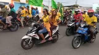 Baixar IMPRESSIONANTE carreata comemorando vitória do Brasil em Papua Barat, Indonésia   Copa Rússia 2018