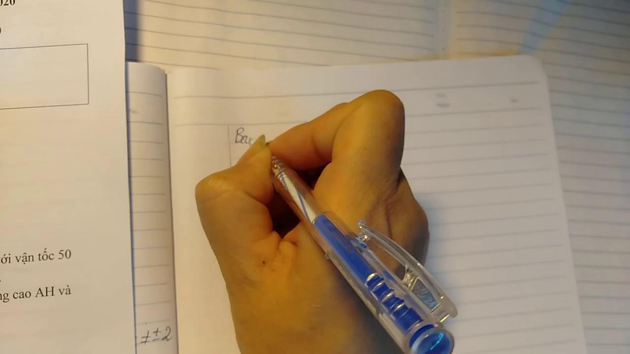 Toán 8: Chữa đề kiểm tra học kì 2.